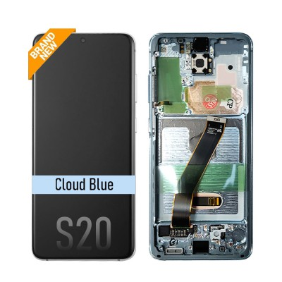 Samsung Galaxy S20 OLED Screen Digitizer Replacement G980F (Brand New)-Cloud Blue