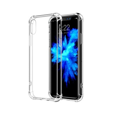TPU Solar Crystal Hybrid Bumper Cover Case for Apple iPhone X / XS