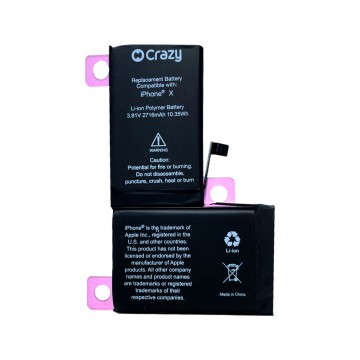 iPhone X Battery Replacement 2716mAh