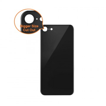 Rear Glass Replacement with Bigger Size Camera Cut-out for iPhone 8