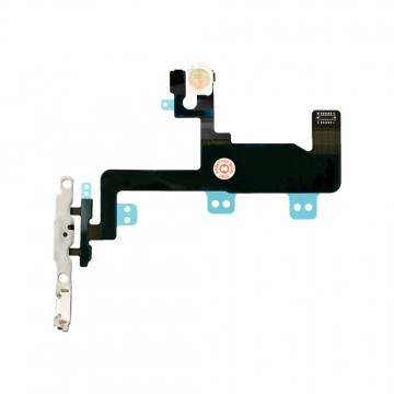 Power Button Flex Cable Replacement for iPhone 6 with Brackets