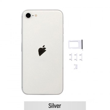 Rear Housing for iPhone SE (2020)-Silver